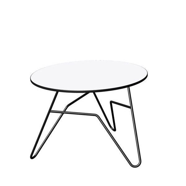 Twist Round Table White | Small