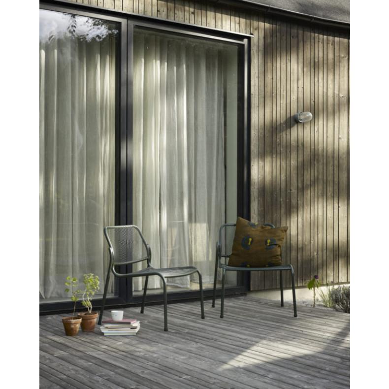 Outdoor-Lounge-Stuhl Mira   Dunkelgrau