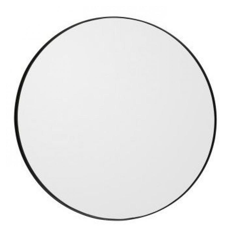 Circum Spiegel Zwart   Medium