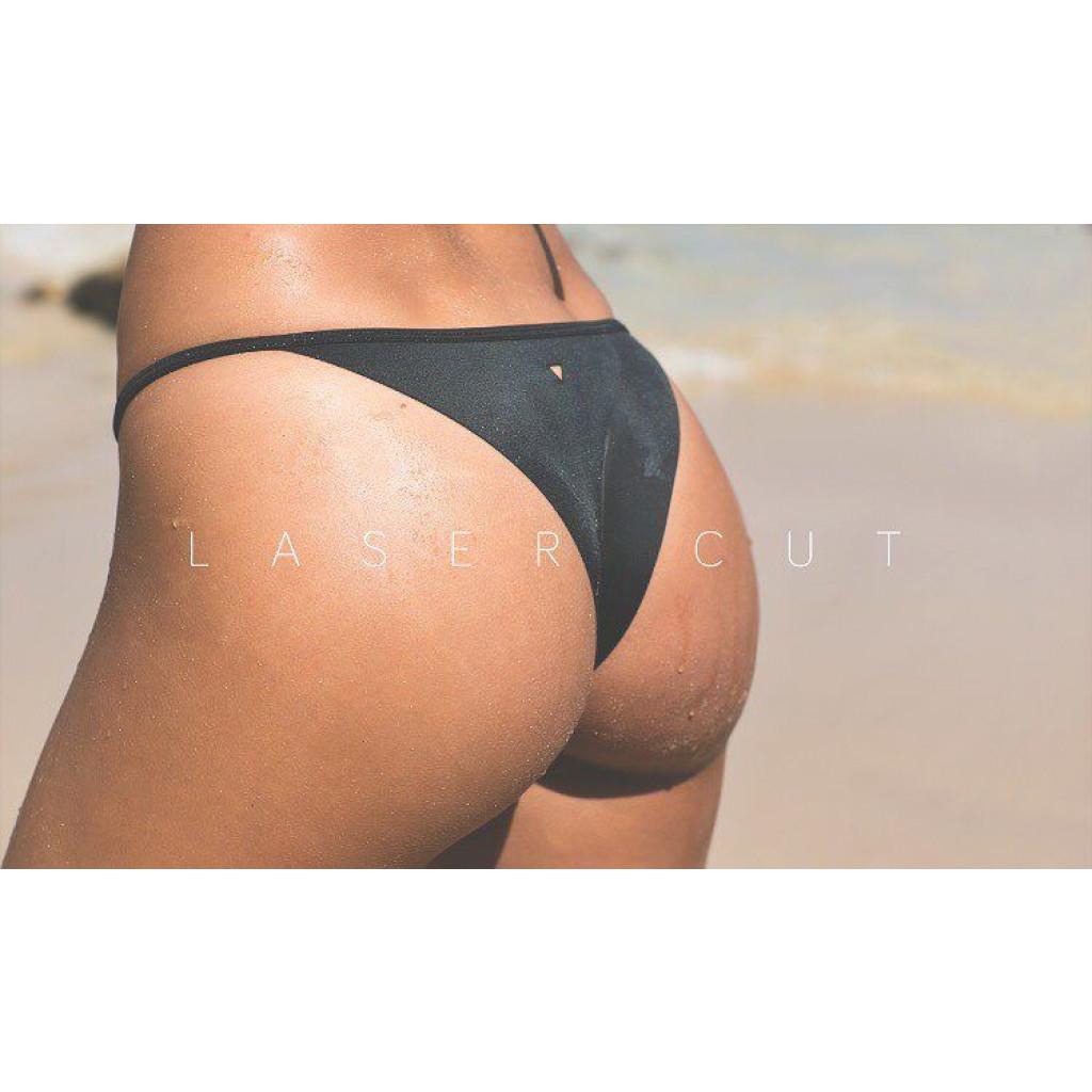 Tryangle Bikini-Unterteil | Schwarz
