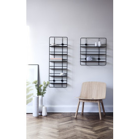 Rectangular Shelf Coupé | Black