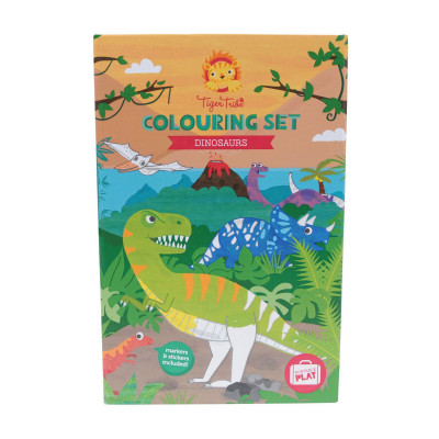 Colouring Set | Dinosaur