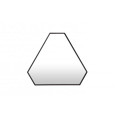 Dreiecks-Reflexionsspiegel | Schwarz