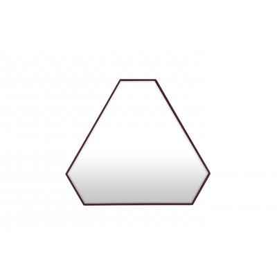 Dreieckiger Reflexionsspiegel | Dunkelrot