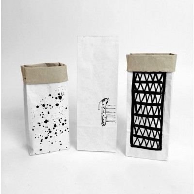 Set of 3 Mini Paper Bags   Cockroach