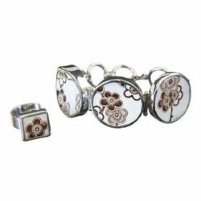 Set Japonica - ring & Bracelet