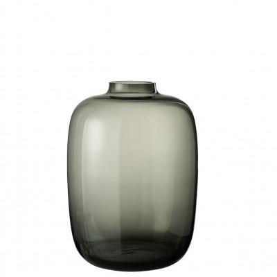 Vase Cleo Groß   Grau
