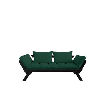 Sofa / Bed Bebop | Black Frame | Green
