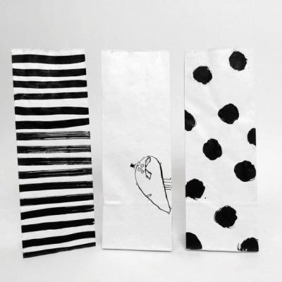 Set of 3 Mini Paper Bags   Profesor
