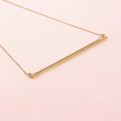 Neel Pendant   Goldplated Silver