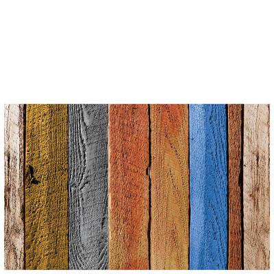 Vinyl Mat Colour Wood Planks