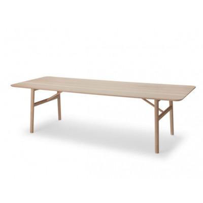 Table Hven 260 | Oak/White Oil