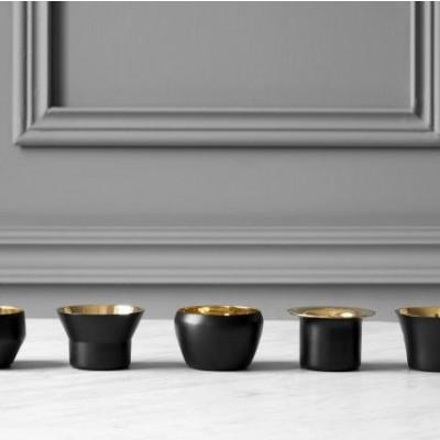 Candle Holder Kin (Set of 5)   Black