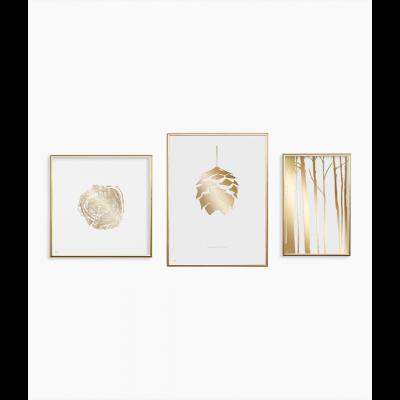 Poster 24K Gold | Kombination von 3 040