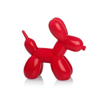 Ballon-Hund-Nachtlicht   Rot