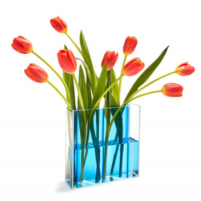 Vase Corrugated
