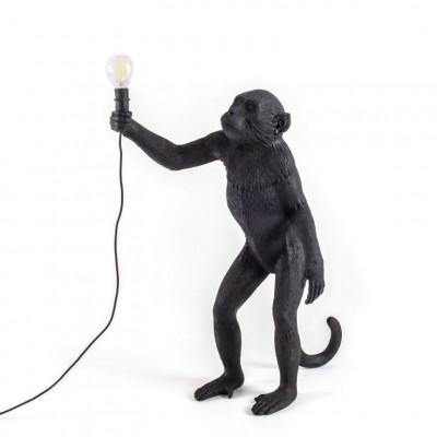 Außenlampe Affe Stehend | Schwarz