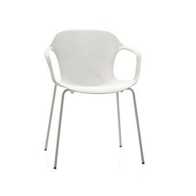 Armchair NAP kS60 | Milk White