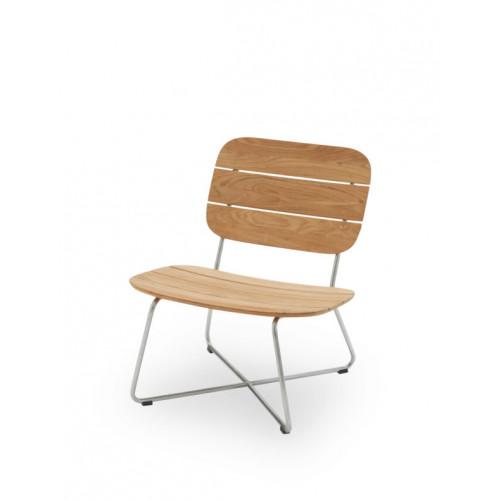 Lounge-Stuhl Lilium | Teak