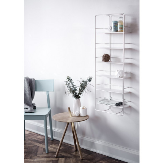 Vertical Shelf Coupé | White