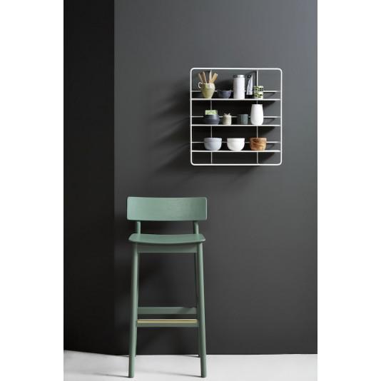 Rectangular Shelf Coupé | White