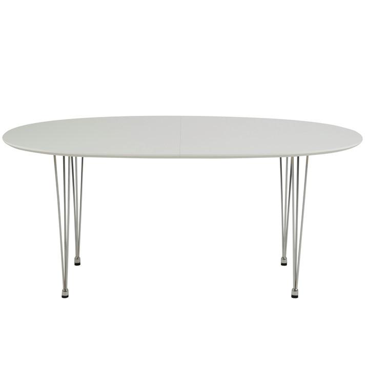 Erweiterbarer Esstisch Ari | 4 Personen | Holz | Weiß