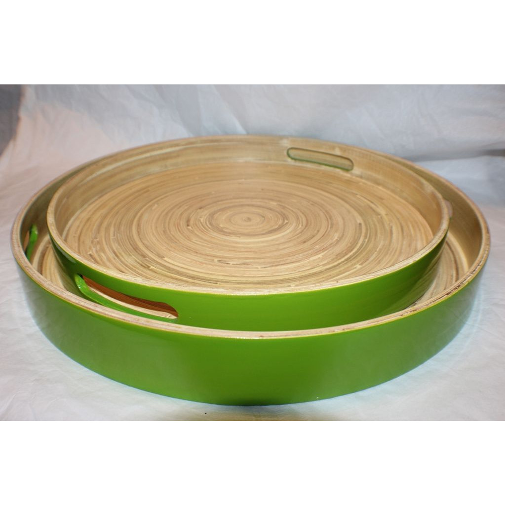 Bambus-Tablett Grün