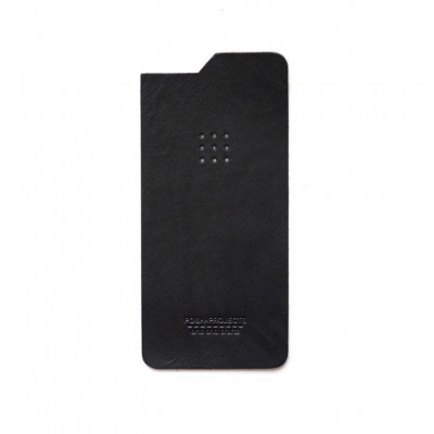 Leather Skin iPhone   Black