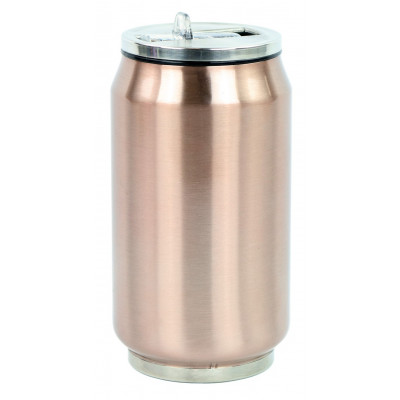 Isotherme Zinndose 280 ml | Kupfer