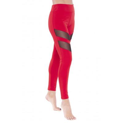 Tummy Tuck Leggings | Rot