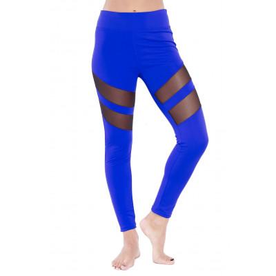 Tummy Tuck Leggings | Blau