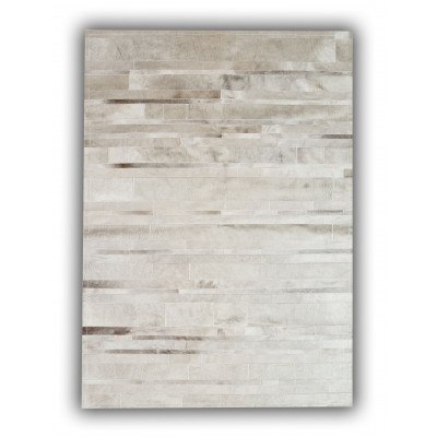 Leather Carpet | White