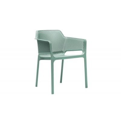 Stapelbares Sessel Net | Grün