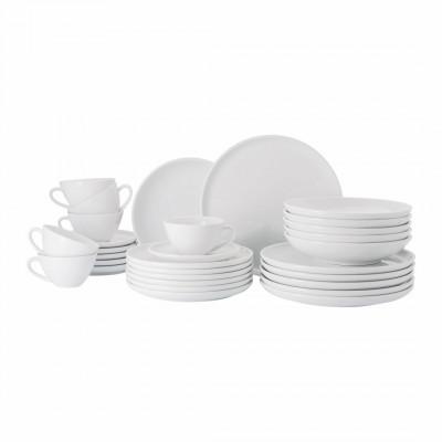 Essgeschirr Set 30-teilig Free | Weiß