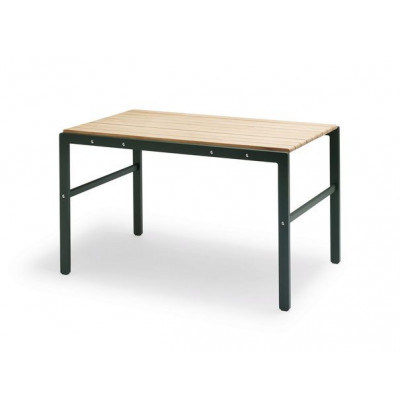 Reform Table | Teak / Green