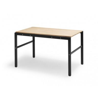 Tisch Reform   Teak / Schwarz