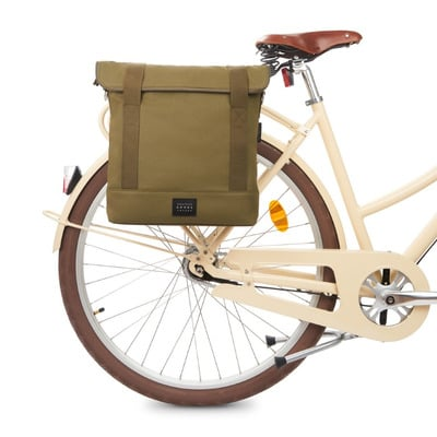 Tote Fahrradtasche City | Olive