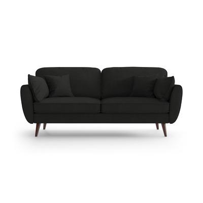 3 Sitzer Sofa Auteuil   Schwarz