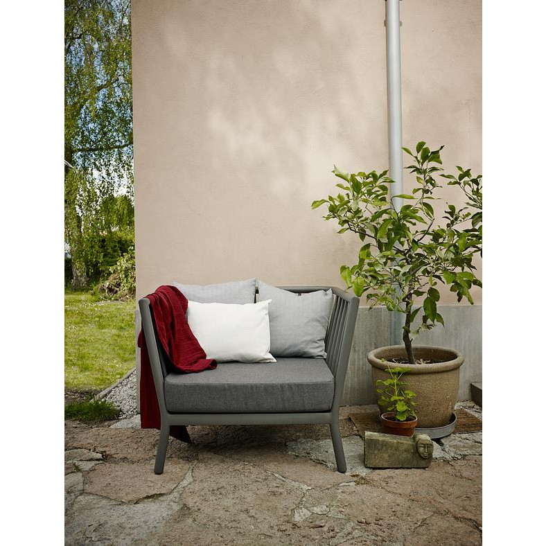 Outdoor-Loungesessel Tradition | Grafitgrau / Dunkelgrau