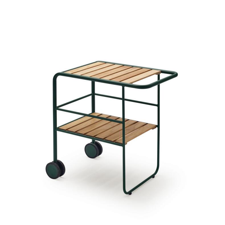 Servierwagen Fuori | Grün