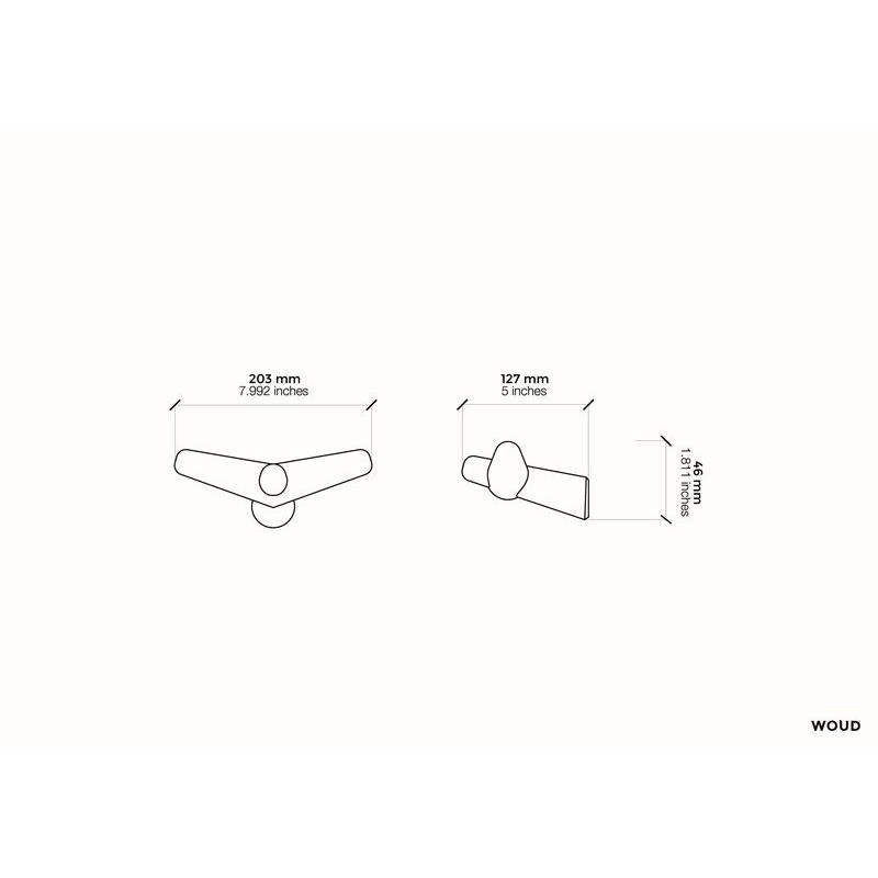 Haken Tail Wing | Eiche