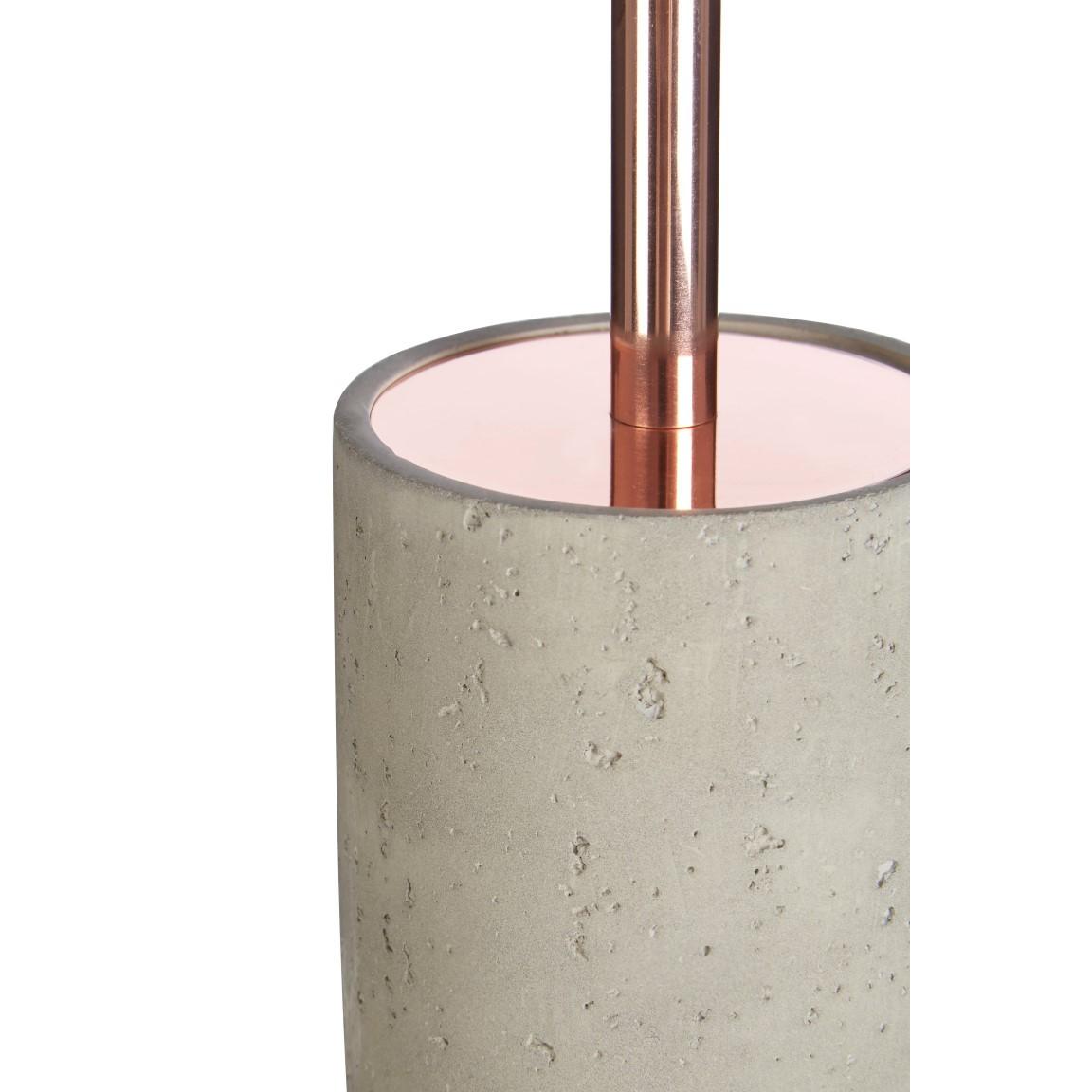 Toilet Brush with Holder Neptune | Copper