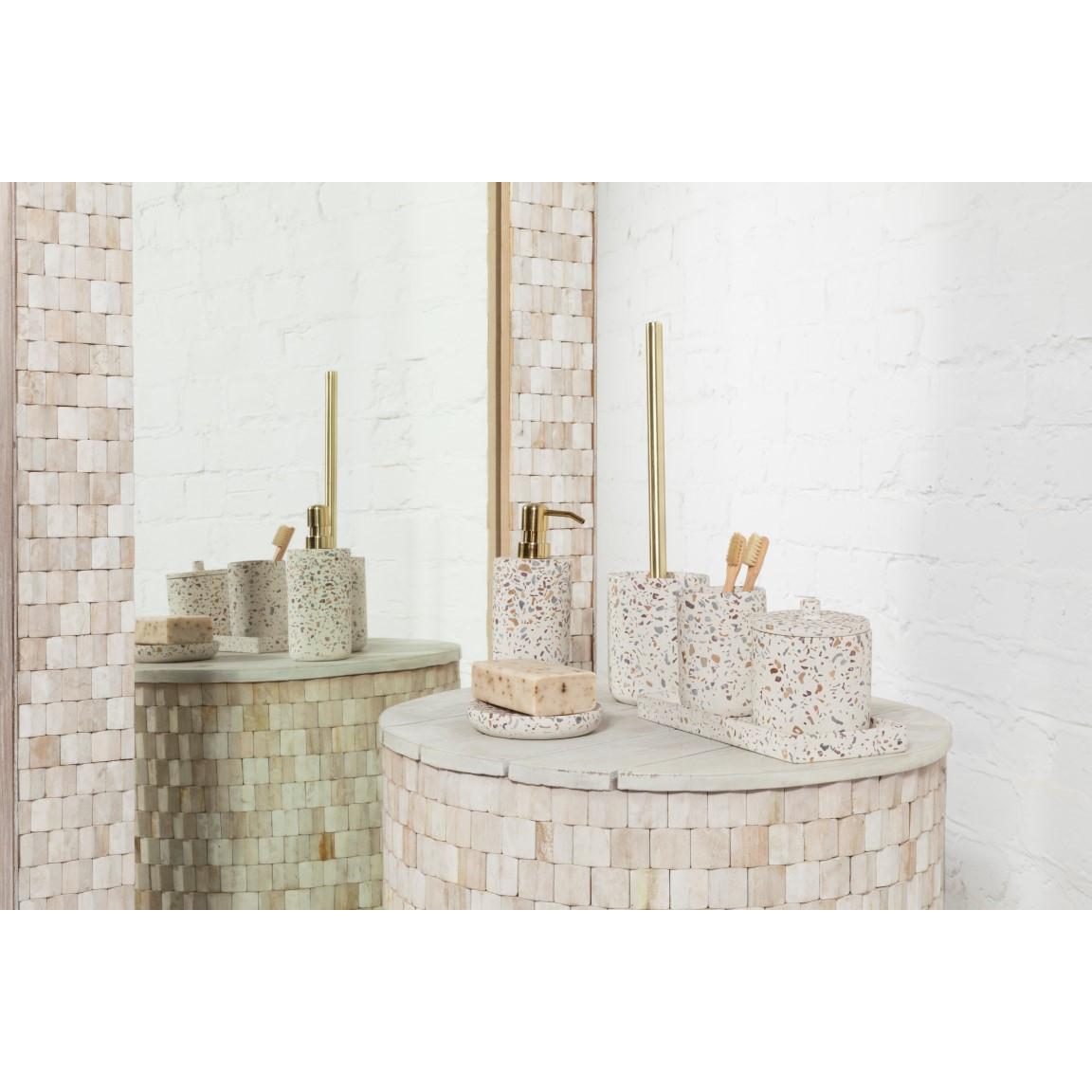 Toilet Brush with Holder Gozo