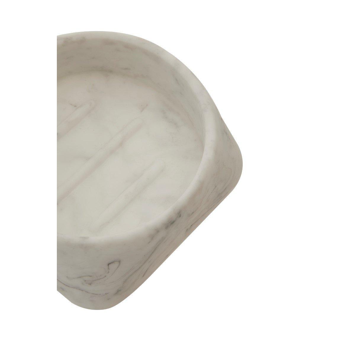 Soap Dish Riviera | White
