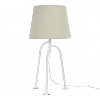 Tischlampe Jay | Mattweiß