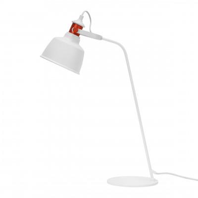 Tischlampe Etel Aluminium | Mattweiß
