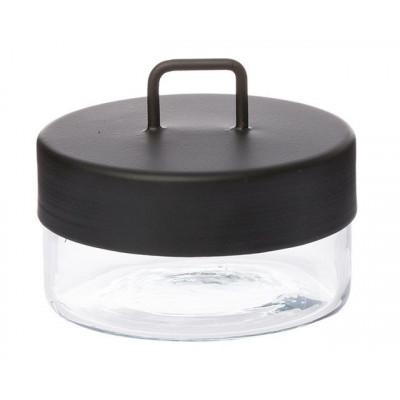 Glass Jar | Black Small
