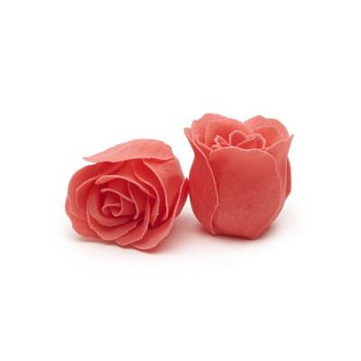 70 Stück Badekonfetti-Rosen | Korallenrosa