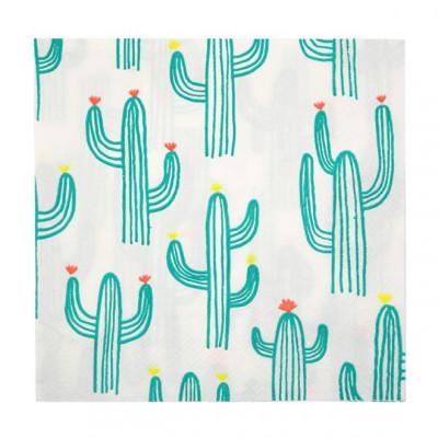 Napkins set of 20   Cactus