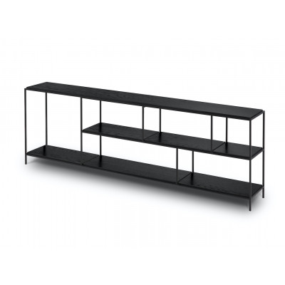 Konsolenschrank Orsay 180x50x60 cm | Schwarze Eiche